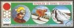 Stamps Equatorial Guinea -  Olimpiada de invierno Sapporro 72