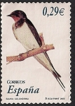 Stamps of the world : Spain :  Flora y Fauna-Golondrina