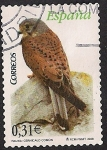 Stamps of the world : Spain :  Flora y fauna-Cernícalo comun