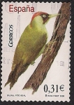 Stamps of the world : Spain :  Flora y fauna-Pito real
