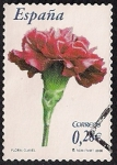 Sellos de Europa - España -  Flora y fauna-Clavel