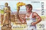 Sellos de Europa - España -  EXFILNA-87