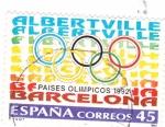 Sellos de Europa - España -  Paises Olimpicos 1992