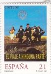 Sellos de Europa - España -  cine español- El viaje a ninguna parte