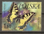 Stamps Poland -  PAPILIO   MACHAON