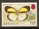 Sellos de America - Antigua y Barbuda -  EUREMA   ELATHEA