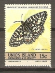 Stamps Saint Vincent and the Grenadines -  ZERYNTHIA   RUMINA