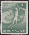 Stamps Chile -  Campeonato Mundial de Futbol