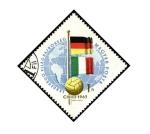 Sellos de Europa - Hungría -  Mundial futbol Chile 1962 Banderas de Alemania e Italia.