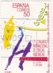 Stamps Spain -  17º Congreso internacional de ciencias históricas