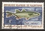 Sellos del Mundo : Africa : Mauritania : Fauna marina.Salmonete