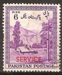 Sellos del Mundo : Asia : Pakistán : Séptimo Aniv de la Independencia.Valle Kaghan .