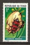 Sellos del Mundo : Africa : Chad : Insectos-Gorrizia dubiosa.