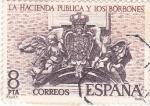 Stamps Spain -  la hacienda pública y los Borbones