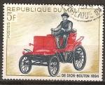 Sellos del Mundo : Africa : Mali : Automóvil de Dion-Bouton de 1894.
