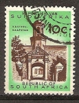Sellos del Mundo : Africa : Sudáfrica : Kasteel Kaapstad (Castillo de Buena Esperanza).