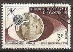 Sellos del Mundo : Africa : Camerún : Telecomunicaciones espaciales.