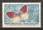 Sellos del Mundo : Africa : Madagascar : Colotis zoe.