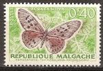 Sellos del Mundo : Africa : Madagascar : Acraea hova.