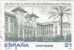 Sellos de Europa - España -  150 aniv.de la facultad de veterinaria de Córdoba