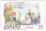 Sellos de Europa - España -  Año internacional de las personas mayores