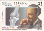Sellos de Europa - España -  Centenario del nacimiento del Dr. Josep Trueta-1907-1997