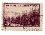 Stamps Argentina -  Caña de azucar