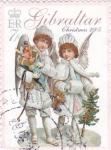 Stamps Gibraltar -  Christmas-2005