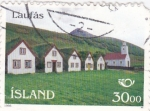 Stamps Iceland -  Laufás