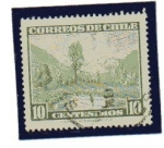 Stamps : America : Chile :  Paisaje