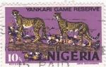 Sellos de Africa - Nigeria -  reserva de Yankari