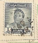 Stamps Asia - Iraq -  Rey Faisal II