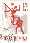 Stamps Romania -  campeonato europeo de volei