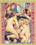 Sellos de Africa - Guinea Ecuatorial -  Obras maestras de Rubens