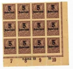 Stamps : Europe : Germany :  sellos de alemania