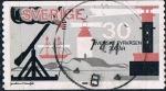 Sellos de Europa - Suecia -  TRICENTENARIO DE LOS FAROS SUECOS Y&T Nº 641
