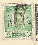 Stamps Asia - Iraq -  Rey Faisal II