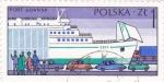 Sellos del Mundo : Europa : Polonia : puerto de Gdansk