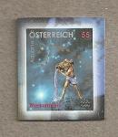 Sellos de Europa - Austria -  Signos del zodíaco:Acuario