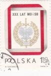 Stamps Poland -  escudo-blanco