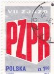 Sellos de Europa - Polonia -  P Z P R