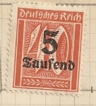 Stamps Germany -  Valor