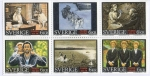 Sellos del Mundo : Europa : Suecia :  Michel  C207  Cinema centenary 6 v in booklet.
