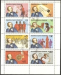 Stamps : Africa : Equatorial_Guinea :  H.B. 160 - Centº de la muerte de Sir Rowland  Hill