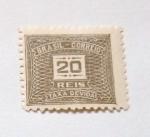 Stamps Brazil -  TAXA DE VIDA