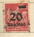 Stamps Germany -  Cosechando