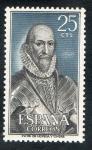 Sellos de Europa - Espa�a -  1705- Personajes espa�oles. �lvaro de Baz�n ( 1526-1588 ).