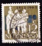 Sellos de Europa - Holanda -  Independencia 1813-1963