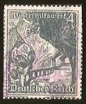 Stamps Germany -  DEUTSCHES REICH - WINTERHIFE OSTMARK