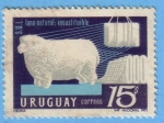 Stamps : America : Uruguay :  Lana Natural: Insustituible